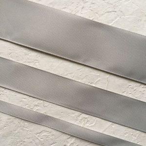 Однотонная репсовая лента 1см, 2,5см, 4см